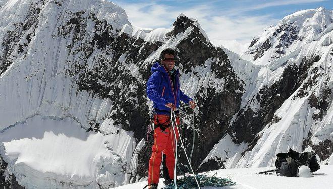 Oriol Baró en su reciente expedición a Perú