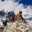 Cala Cimenti en el descenso del Nanga Parbat en el descenso del Nanga Parbat