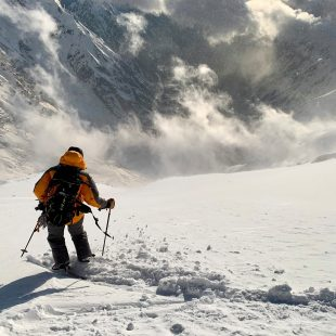 Cala Cimenti en el descenso del Nanga Parbat