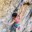 Cintia Percivati en el sector Cuenco de Mallorca