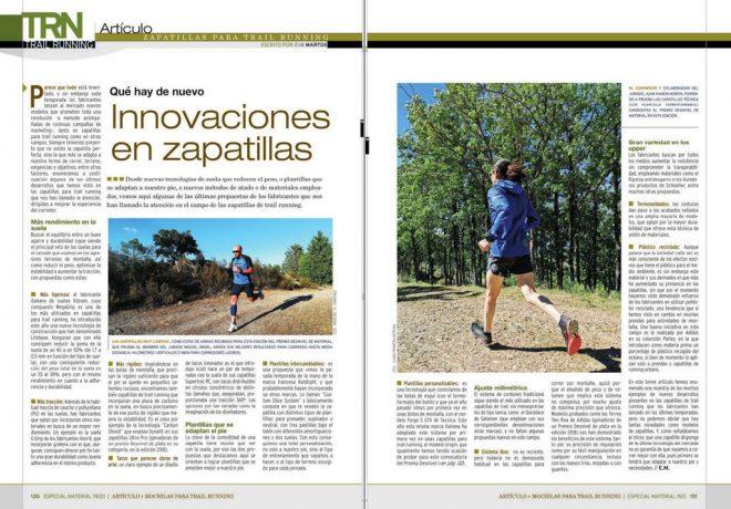 Artículo de zapatillas de trail running
