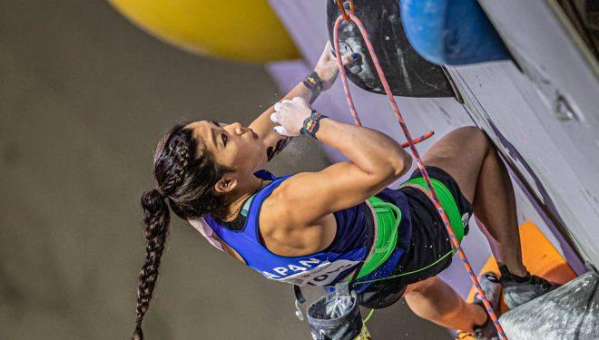 Nonaka Miho en la eliminatoria prueba combinada Campeonato Mundial Japón 2019