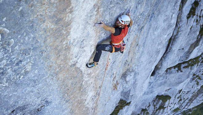 Siebe Vanhee en 'Yeah man' (330 m, 8b+)