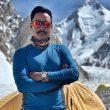 Nirmal Purja a los pies del K2