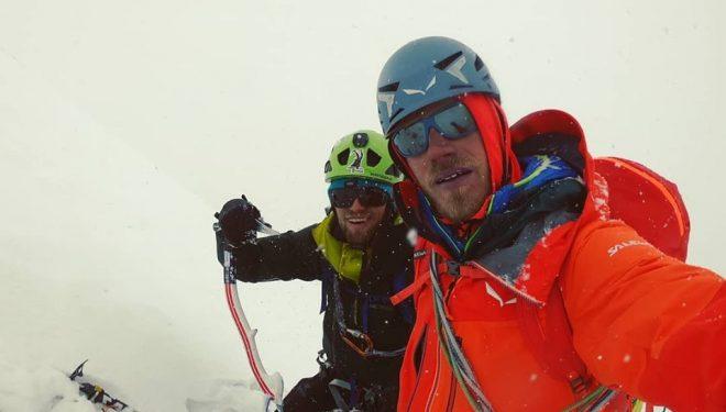 Martin Sieberer y Simon Messner en el Black Tooth