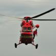 Helicóptero de rescate en los Tatras