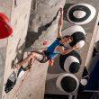 Adam Ondra en la Copa del Mundo de Escalada de Dificultad 2019 de Kranj