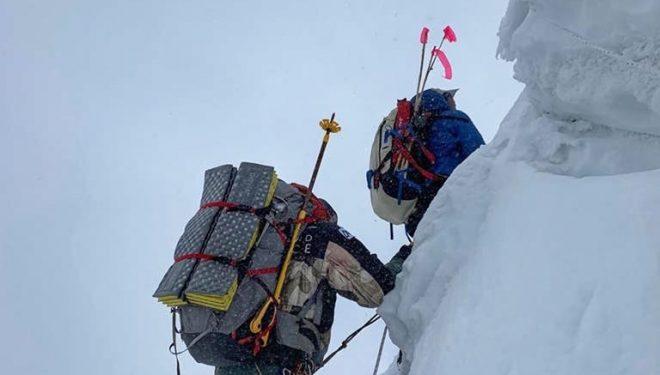 Nirmal Purja en el ascenso al Cho Oyu