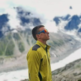 Álex González en Chamonix, verano 2019