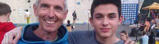 David Macià y Alberto Ginés en el Campeonato de Europa Juvenil 2018