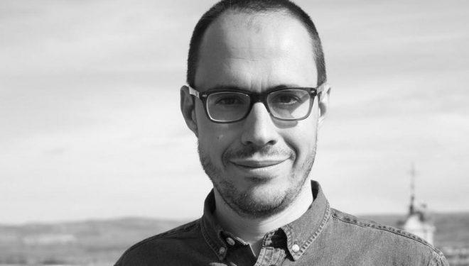 """Miguel Calvo autor del libro """"Regresar a Maratón"""""""