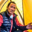 Lakpa Temba Sherpa miembro del equipo sherpas de la expedición de Carlos Soria al Dhaulagiri (otoño 2019).