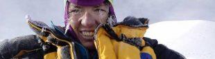 Cristina Piolini en el Manaslu