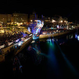 Escenario del Street Games A Coruña 2019