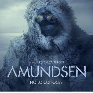 Cartel de la película Amundsen de Espen Sandberg.