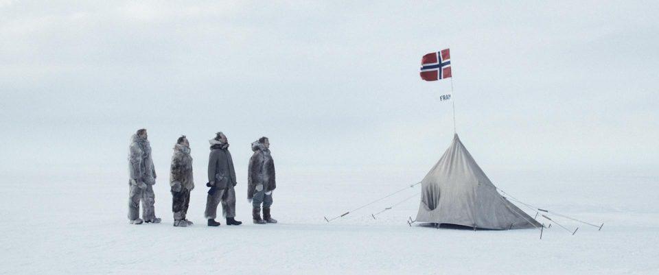 Imagen de la película Amundsen de Espen Sandberg.