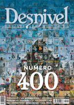 Portada del número 400 de la revista Desnivel