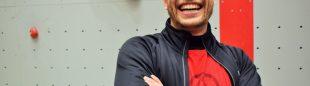Erik Noya en la Inauguración Rocódromo X-Madrid Climbat