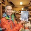 """Raúl Lora en la presentación en la Librería Desnivel de su libro """"Alpinismo, el arte de la eficiencia""""."""