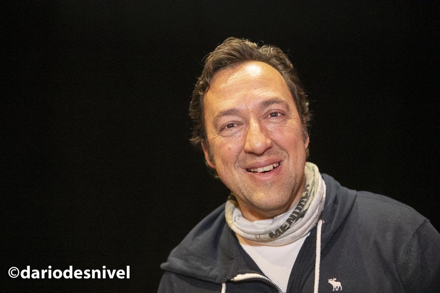 José Antonio Ponsetti director del programa Ser Aventureros que se ha grabado en las Jornadas Montaña de Moralzarzal 2019.