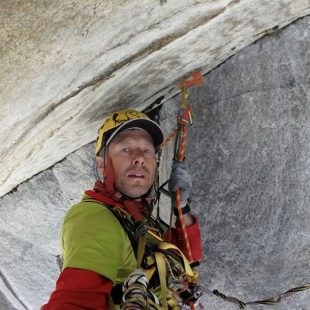 Marek Raganowicz en 'Born under bad sign' A5 de El Capitan (Yosemite).