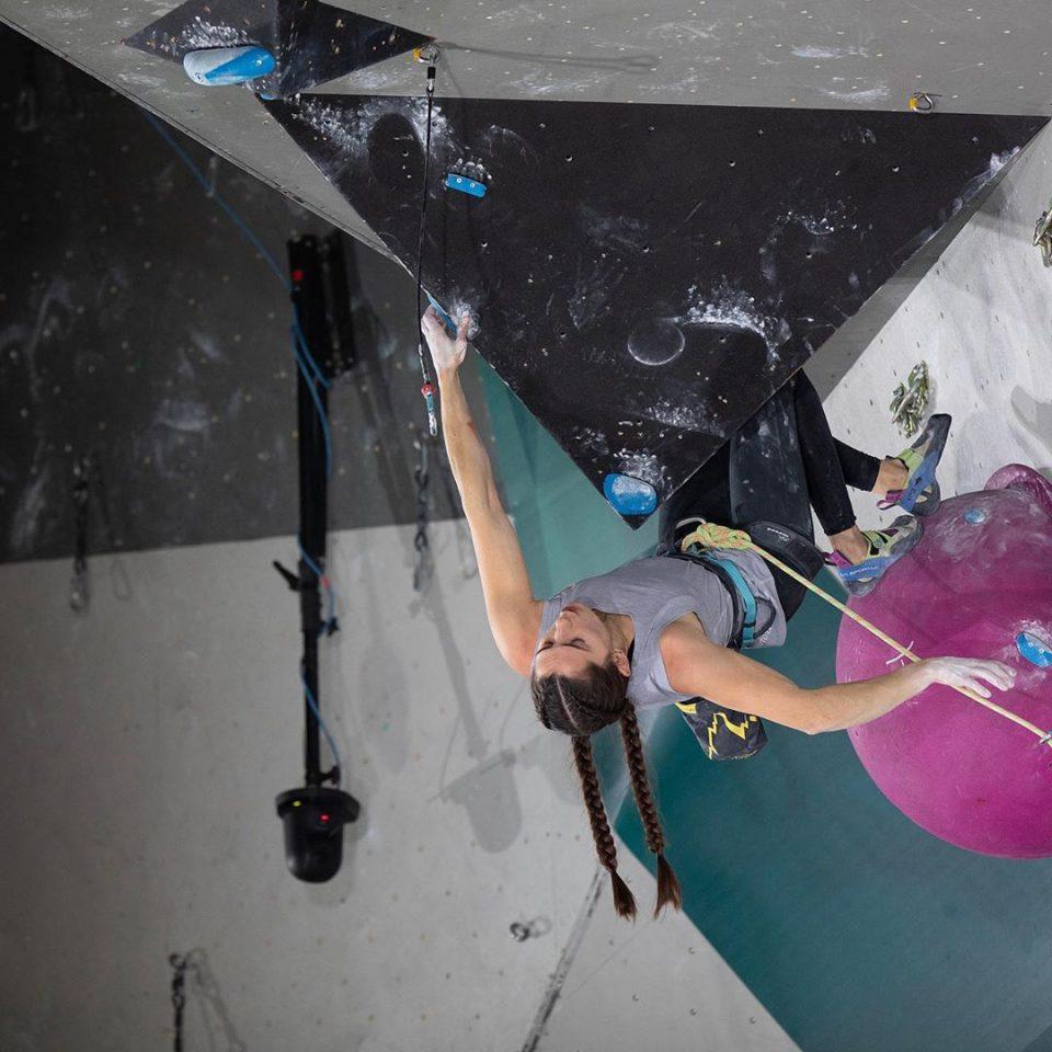 Kyra Condie en la prueba preolímpica de Toulouse, nov 2029
