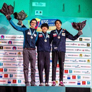Podio masculino preolímpico Toulouse nov 2019
