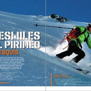 Tresmiles del Pirineo. Desnivel nº 401