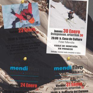 Cartel Jornadas De Montaña En Sangüesa 2020