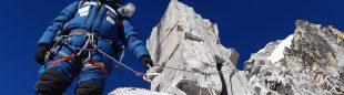 Cheppal Sherpa en el Ama Dablam.
