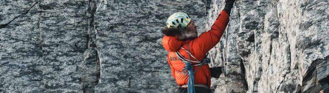 Jost Kobusch, camino de su C1 en el Everest invernal