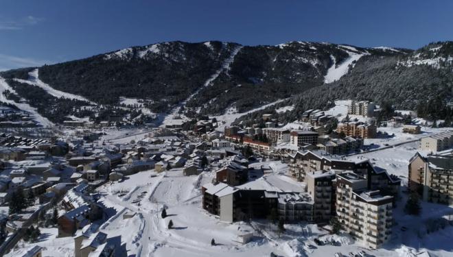 Les Angles, estación de esquí del Pirineo Oriental