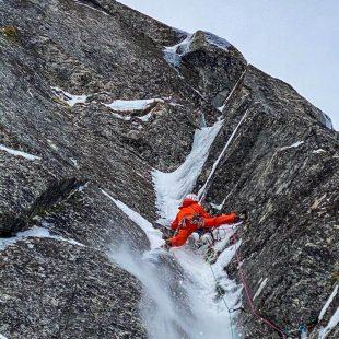 Jeff Mercier en las islas Lofoten (Noruega)