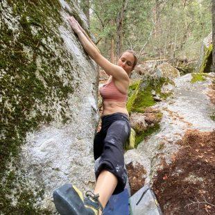Beth Rodden en 'Slice of life' en Yosemite