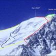Las rutas de ascensión al Shisha Pangma desde la arista norte