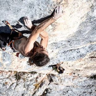 Thomas Huber en 'Stone Age' 8b+