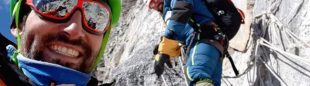 Álex Txikon y sus compañeros, camino del C3 en el Ama Dablam invernal