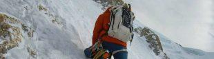 Denis Urubko, camino del C2 en el Broad peak invernal