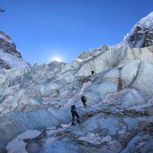 La expedición de Alex Txikon que intenta el Everest invernal sin oxígeno (febrero 2020).