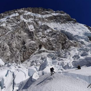 La expedición de Alex Txikon que intenta el Everest invernal sin oxígeno (febrero 2020).