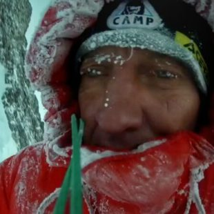 Denis Urubko en el Broad Peak invernal