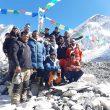 El equipo de Álex Txikon en el CB del Everest invernal 2020