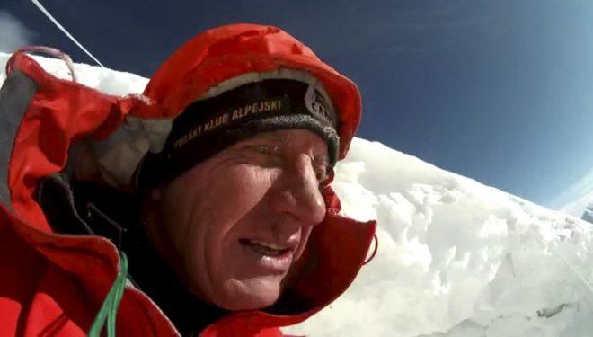Autoretrato de Denis Urubko durante su intento invernal al Broad Peak (16 y 17febrero 2020). Se sintió fuerte y aclimatado, pero no tuvo suerte.