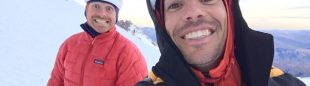 Colin Haley y Alex Honnold en el macizo Fitz Roy