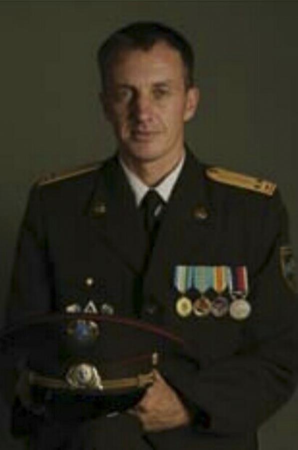 Denis Urubko en su época de militar en el ejército ruso.