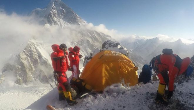 Expedición internacional al K2 invernal 2020