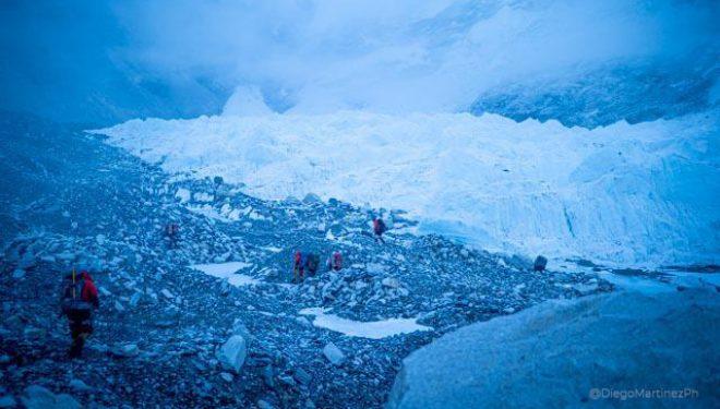 El equipo de Álex Txikon se despide del CB en su intento al Everest invernal 2020