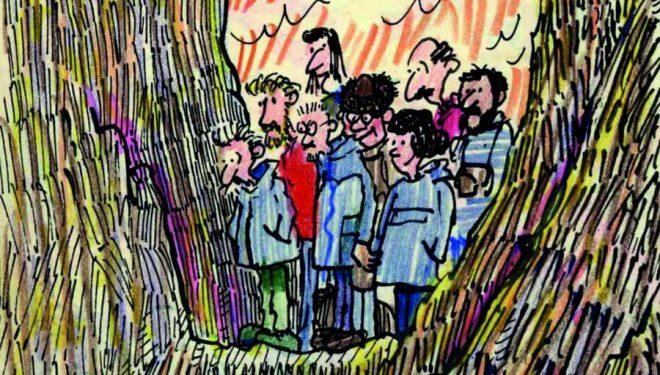 «Dibujos de campo» de Eduardo Martínez de Pisón