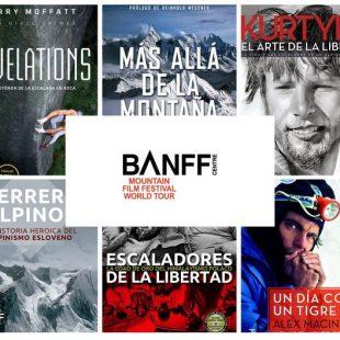Seis libros Desnivel premiados en Banff