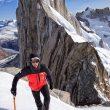Alex Honnold en la travesía 'Crystal Castles', en Patagonia
